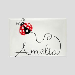 Ladybug Amelia Magnets