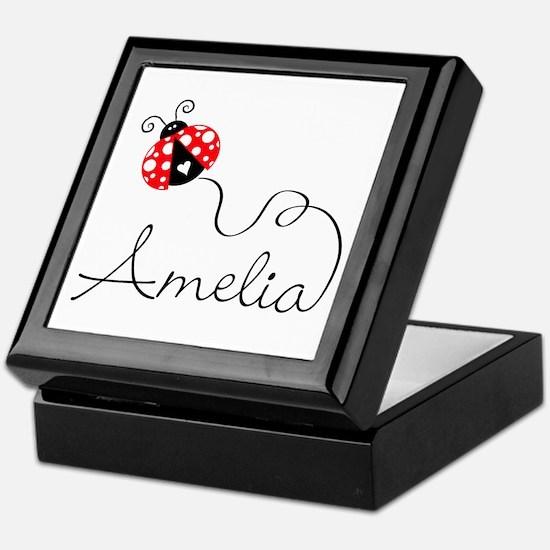 Ladybug Amelia Keepsake Box