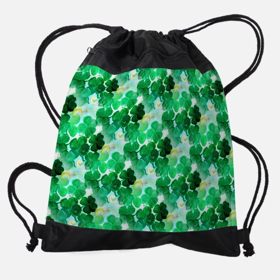 Clovers Drawstring Bag