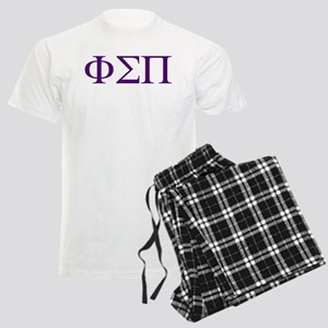 Phi Sigma Pi Letters Men's Light Pajamas