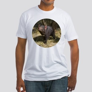 Tasmanian Devil Fitted T-Shirt