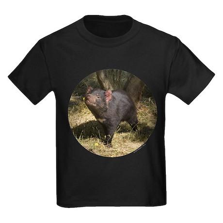 Tasmanian Devil Women 39 S Dark Kids Dark T Shirt Tasmanian
