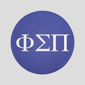Phi Sigma Pi Letters Button