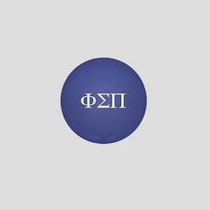 Phi Sigma Pi Letters Mini Button
