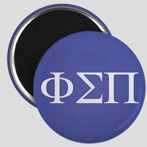 Phi Sigma Pi Letters Magnet