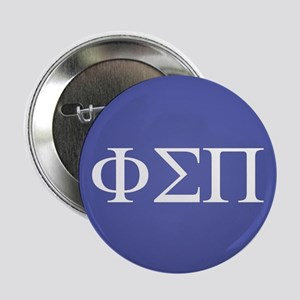"Phi Sigma Pi Letters 2.25"" Button"