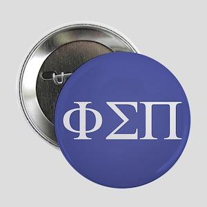 "Phi Sigma Pi Letters 2.25"" Button"