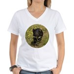 Tasmanian Devil Women's V-Neck T-Shirt