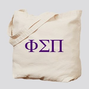 Phi Sigma Pi Letters Tote Bag
