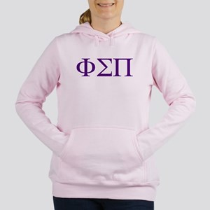 Phi Sigma Pi Letters Women's Hooded Sweatshirt
