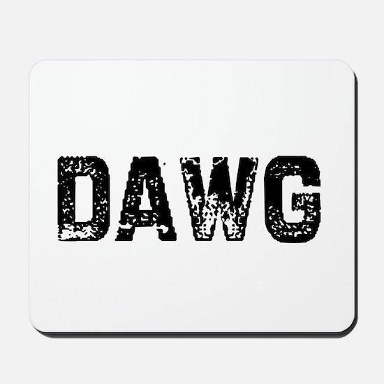 Dawg Mousepad
