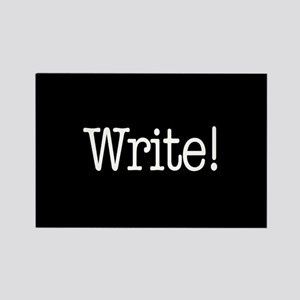 Write! Rectangle Magnet