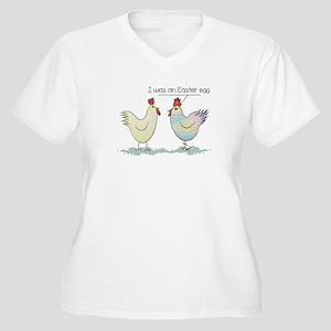Funny Easter Egg Women's Plus Size V-Neck T-Shirt
