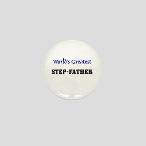 World's Greatest STEP-FATHER Mini Button
