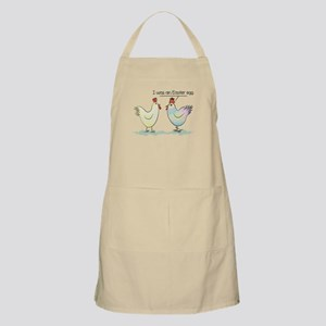 Funny Easter Egg Chicken Light Apron