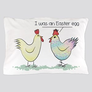 Funny Easter Egg Chicken Pillow Case