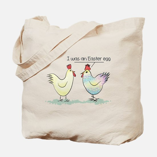 Funny Easter Egg Chicken Tote Bag