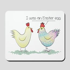 Funny Easter Egg Chicken Mousepad