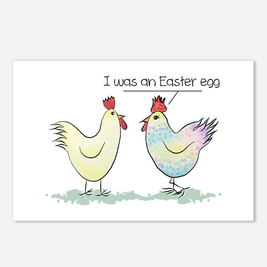 Funny Easter Egg Chicken Postcards (Package of 8)