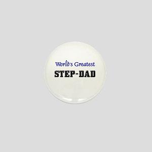 World's Greatest STEP-DAD Mini Button