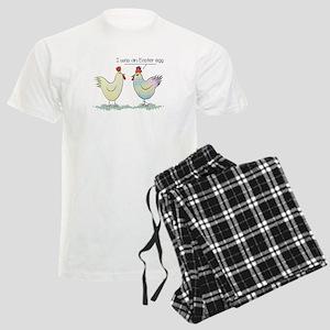 Funny Easter Egg Chicken Men's Light Pajamas