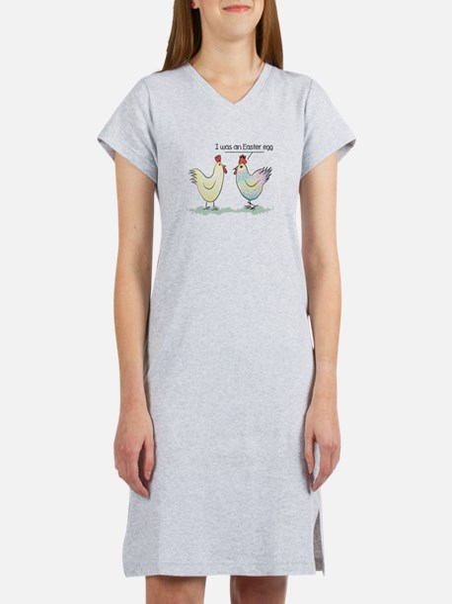 Funny Easter Egg Chicken Women's Nightshirt