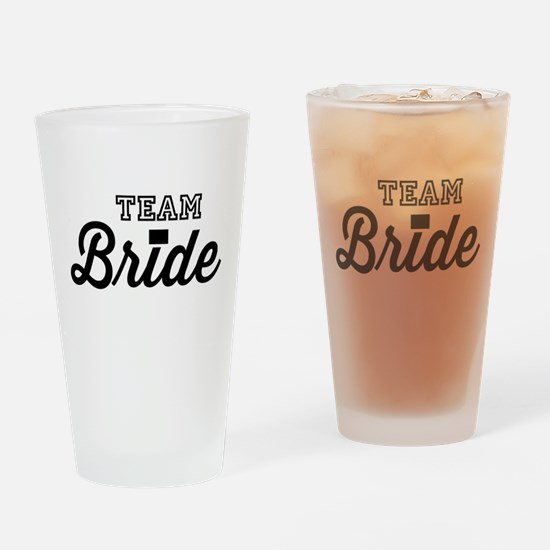 Team Bride Drinking Glass