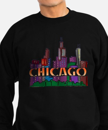 Chicago Skyline Jumper Sweater
