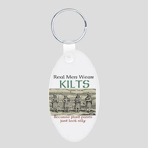 Real Men Wear Kilts Keychains