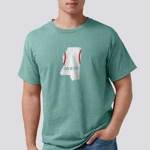 Teeball Mom Shirt Mississippi Shirt T-Shirt