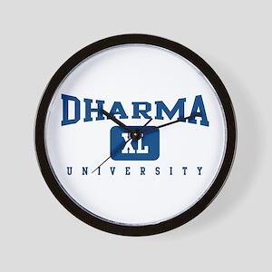 Dharma XL Univeristy Wall Clock