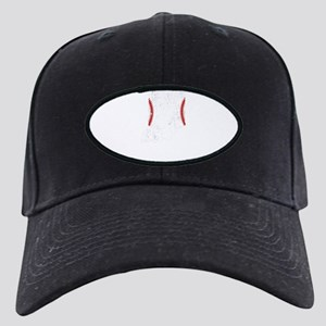 T Ball Mom Shirt Indiana Tee Black Cap with Patch