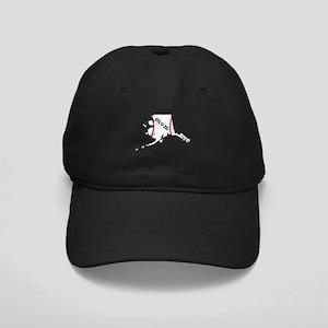 T Ball Mom Shirt Alaska Tee B Black Cap with Patch