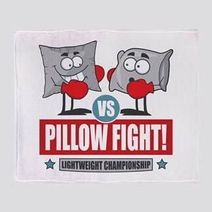 Pillow Fight! Throw Blanket