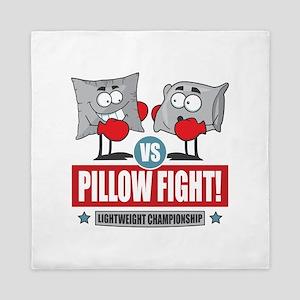 Pillow Fight! Queen Duvet