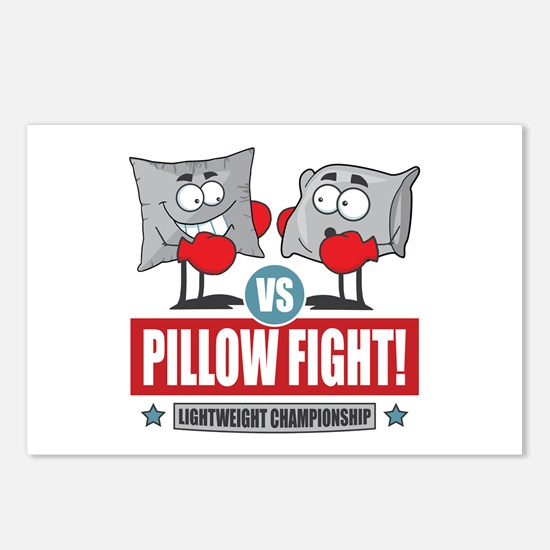 Pillow Fight! Postcards (Package of 8)