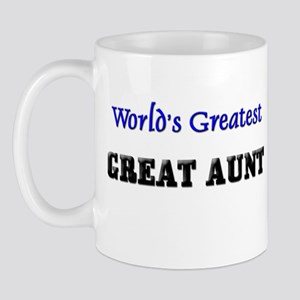 World's Greatest GREAT AUNT Mug