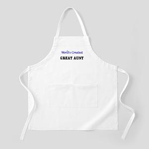 World's Greatest GREAT AUNT BBQ Apron