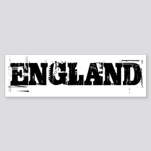 ENGLAND TRASHED Bumper Sticker