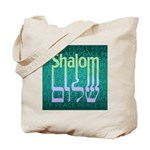 Shalom Peace Tote Bag