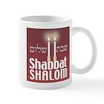 Shabbat Shalom Mug Mugs