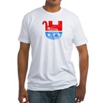 Dead Republican Elephant Fitted T-Shirt