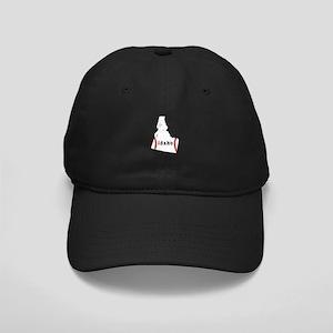 Idaho Youth Baseball Softball Black Cap with Patch