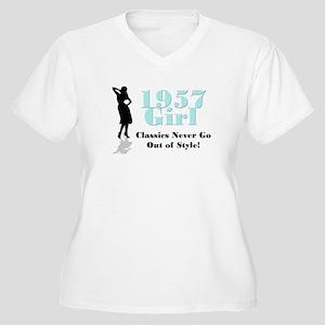 1957 Women's Plus Size V-Neck T-Shirt