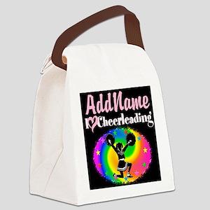 BEST CHEERLEADER Canvas Lunch Bag