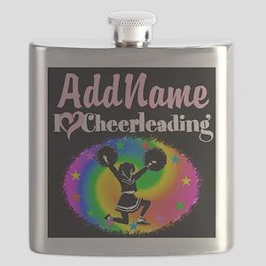 BEST CHEERLEADER Flask