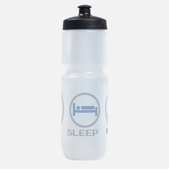 Eat Sleep Mine Sports Bottle