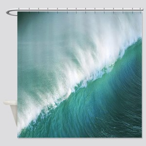 Tidal Wave Shower Curtain