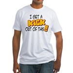 Kick Out of This Fitted T-Shirt