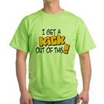 Kick Out of This Green T-Shirt